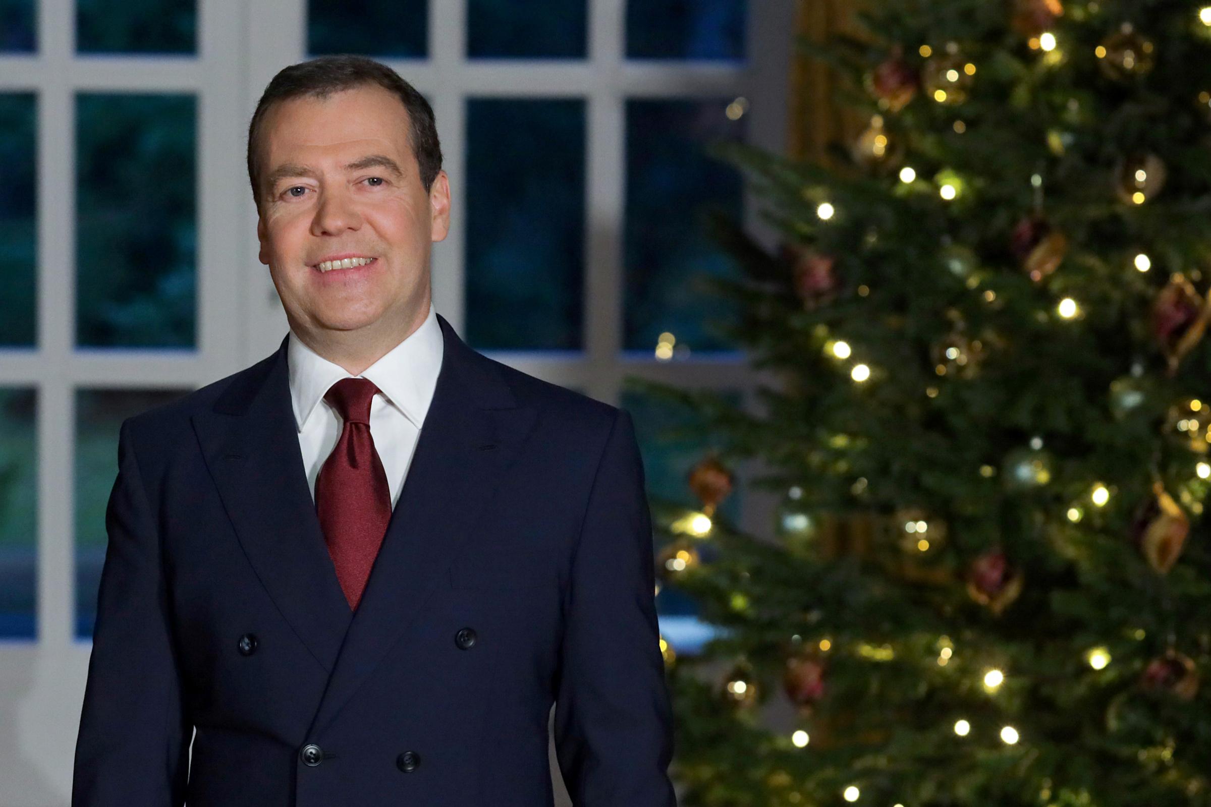 Поздравление с новым годом в президентов
